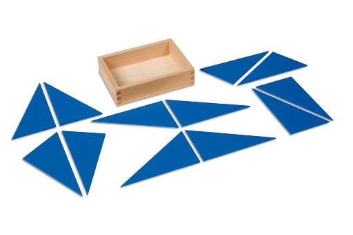 0.049.F0 Constructive blue triangles