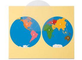 0.177.00 Puzzle map world parts