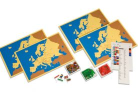 0.179.01 Four maps of Europe