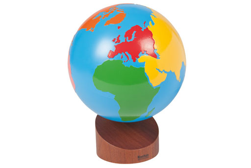 0.231.00 Globe of the continents