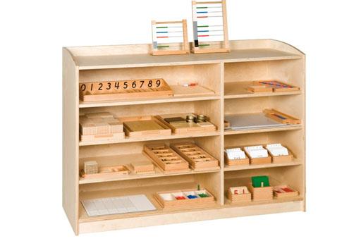 Cabinets 101 cm high montessori design for Cabinets 101