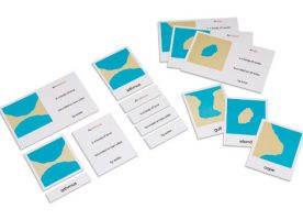 5.505.00 Land and water forms card set