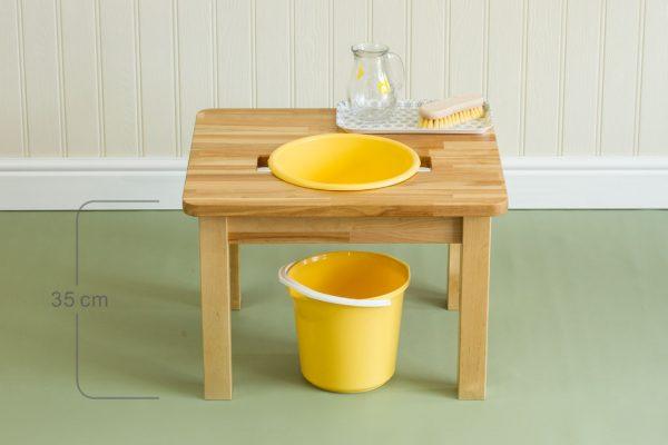 Basic Wash table 0-3 PL0007