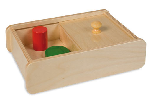 Box with sliding lid 042800