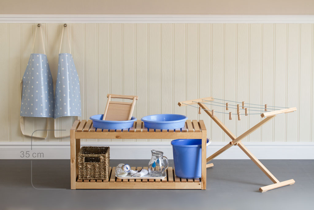 Bambini Cloth Washing Table