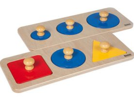 Nienhuis Multi shape puzzle 044200