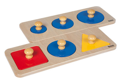 Multiple Shape Puzzle Set on House And Furniture