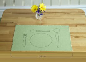 Table Mat Material PL0068G