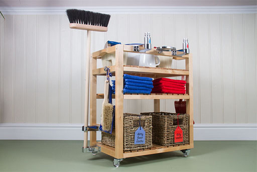 Environment Cleaning Trolley