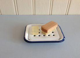 Soap dish with soaps PL0047