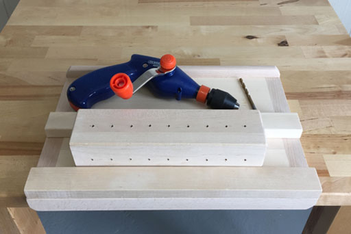 Carpentry Hand Drilling