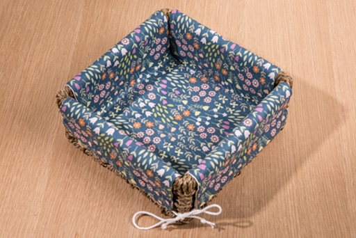 Large lined basket