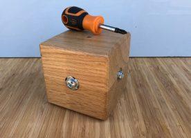 Cross Head Screwdriver cube