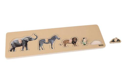 Toddler Wild Animal Puzzle