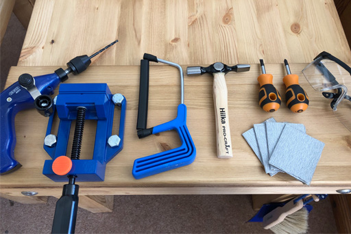 Spare Carpentry Tools