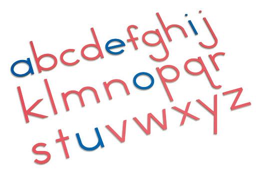 Nienhuis Large Movable Alphabet