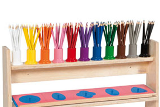 Nienhuis Coloured pencils and holders