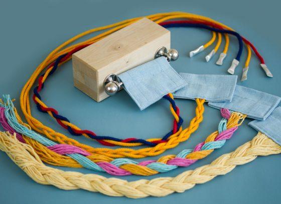 Plaiting Block & Threads
