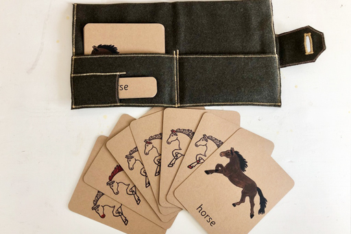 Parts of a horse classification cards