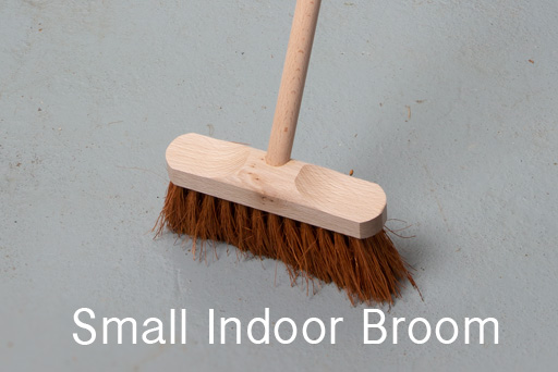 Broom for indoor sweeping