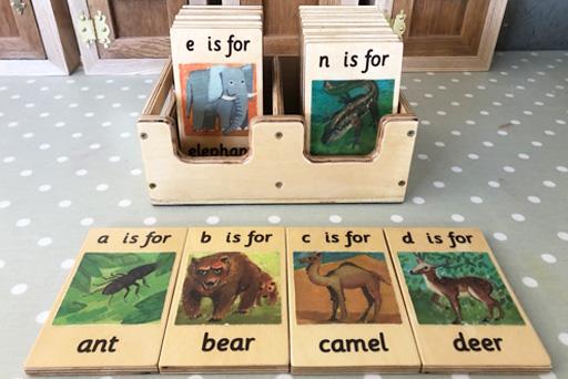Alphabet Animal Tiles